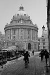 Radcliffe Camera in the Snow